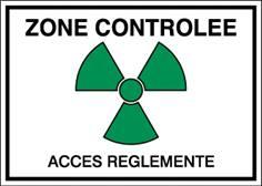 Zone controlée / Accès réglementé STF 453