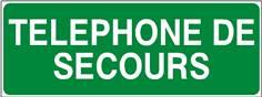 Téléphone de secours - texte - STF 2016S