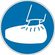 Signalétique Port de Sur Chaussures Obligatoire - PIC 280