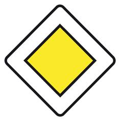 Panneau Route Prioritaire - AB6
