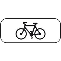 Panonceau Vélos - M4d1 pour panneaux routiers