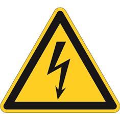 Picto pour le sol Danger électrique 500 mm - W012
