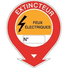 Panneau Extincteur feux électriques - STF 582
