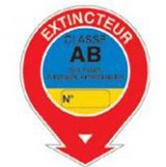Panneau Extincteur classe AB - STF 596