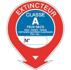 Panneau Extincteur classe A STF 578