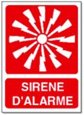 Sirène alarme - STF 1608S