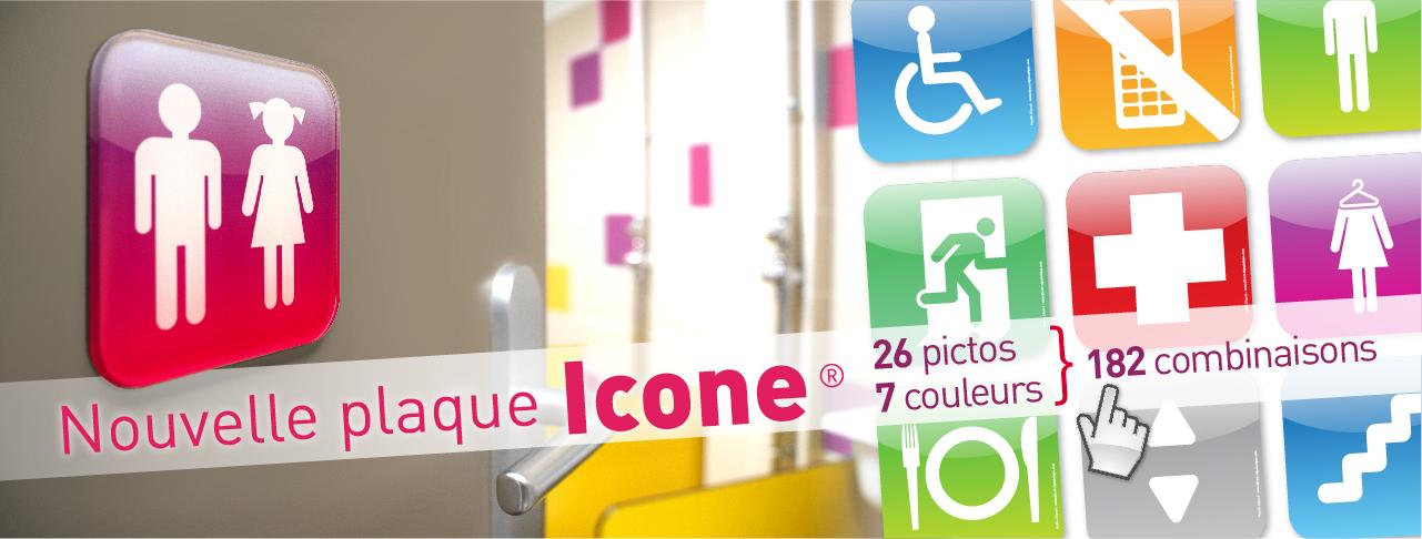 I-Plaque Icone